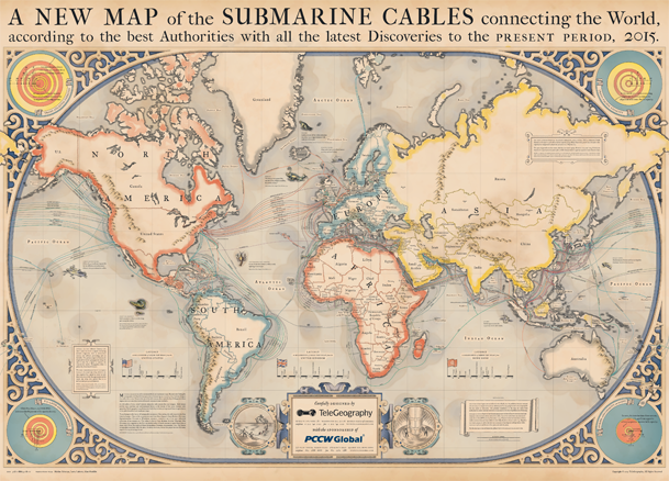 Image result for submarine power cable map