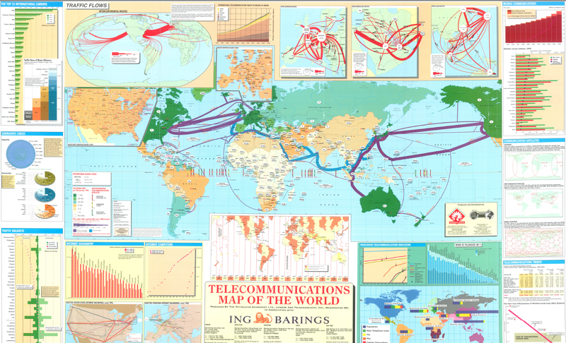 Map of the World 1996-1